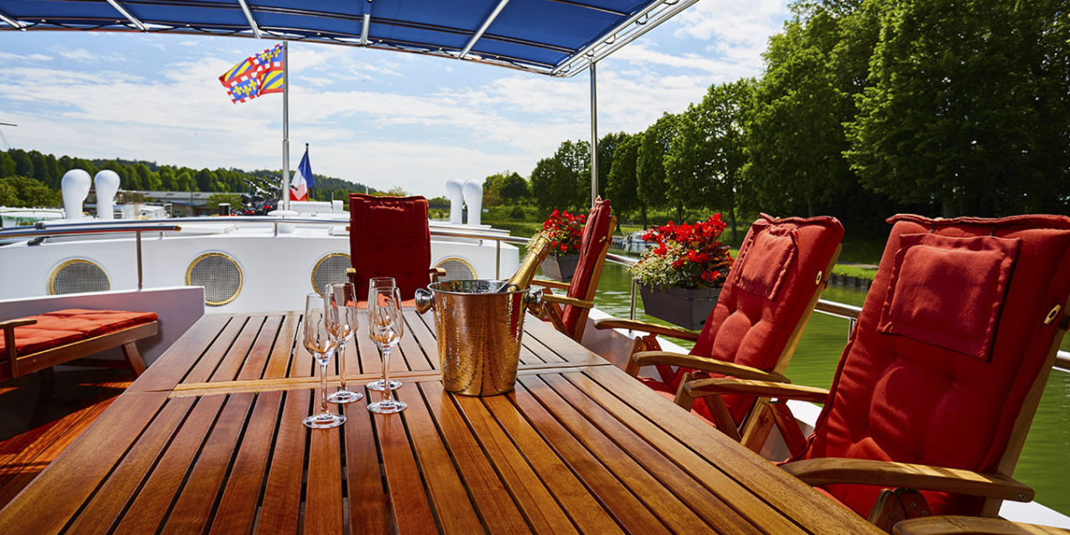 Short & sweet barge cruises in France