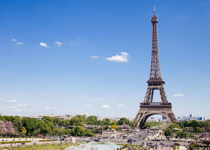 Paris stop on the Burgundy Cruise Route