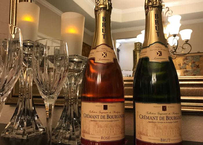 Crement du Bourgogne wine tasting