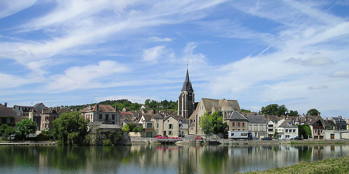 Upper Loire to Burgundy Cruise Route