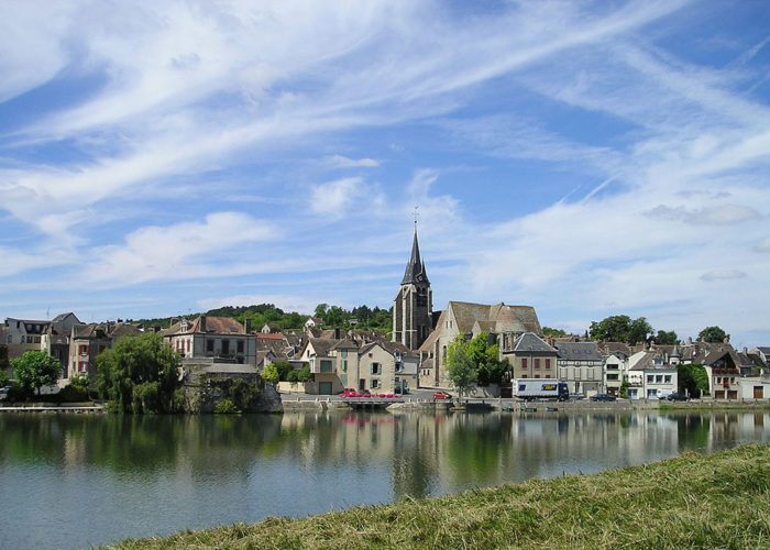 Sightseeing at the Abbey of Pontigny on the Upper Loire to Burgundy Cruise Route