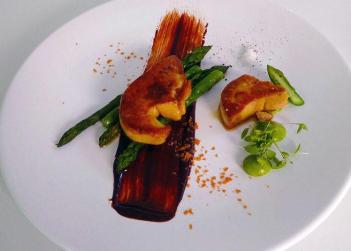 C'est La Vie Luxury Hotel example dish