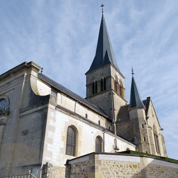 Churches of Champagne exterior