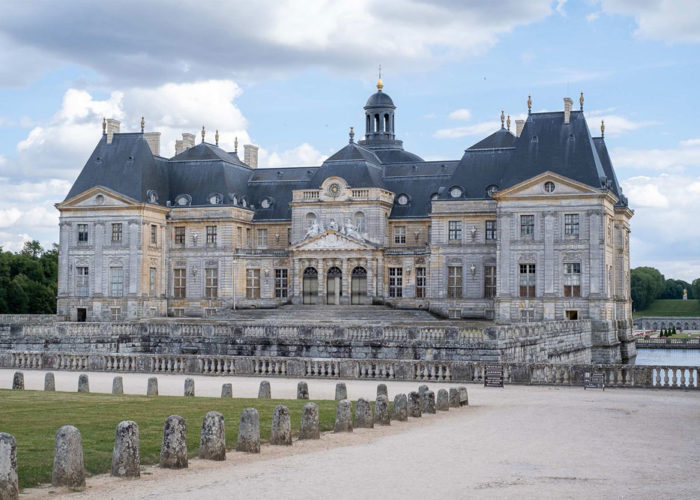 Chateau of Vaux le Vicomte on the Haute de France & Upper Loire Hotel Barge Cruise