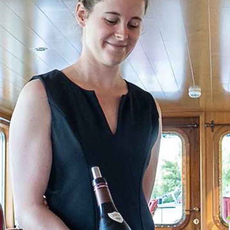 On board the C'est La Vie Luxury Hotel Barge