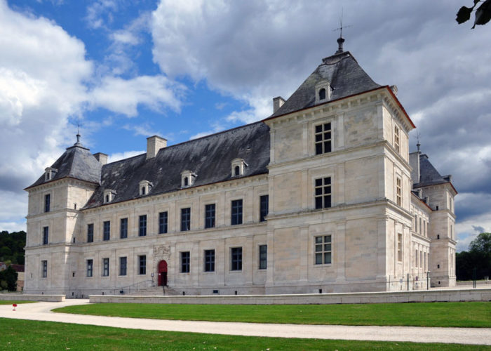Chateau of Ancy le Franc on the 5-night Burgundy Barge Cruise