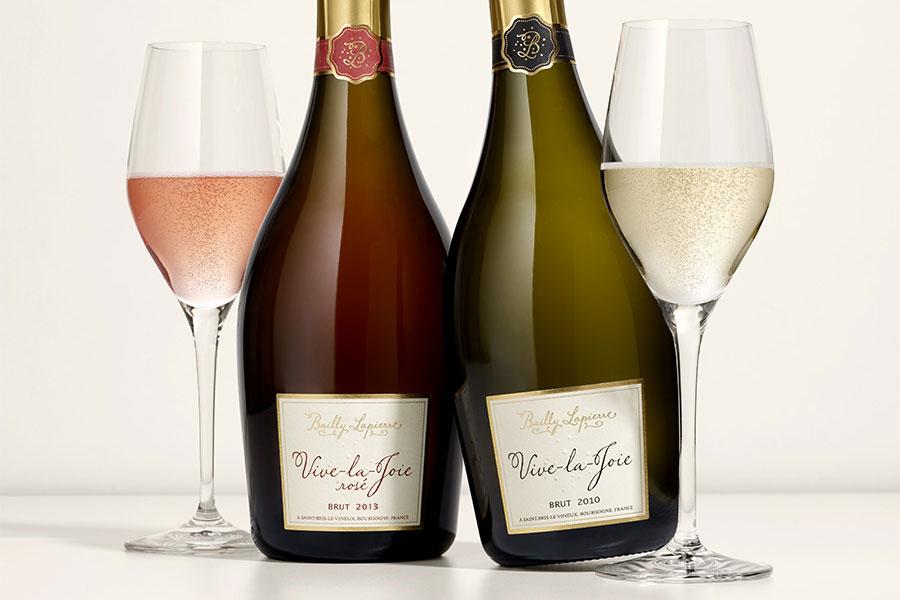 Vive-la-Joie, the flagship Crémant de Bourgogne sparkling wines