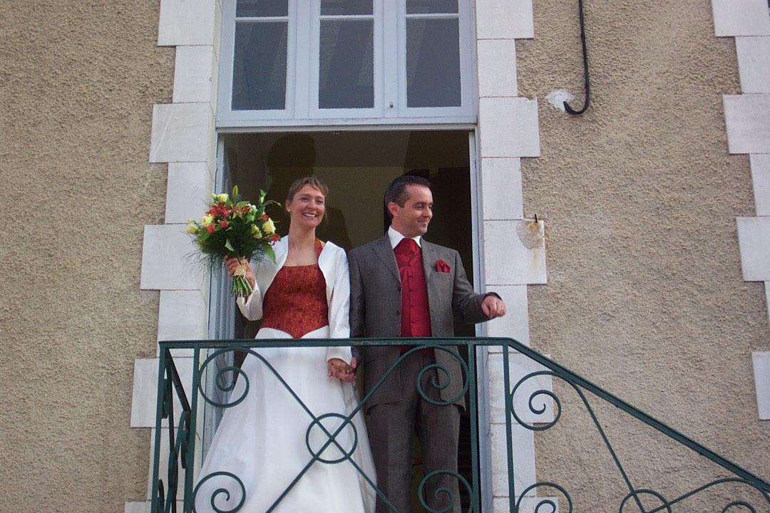 Olivier & Deb wedding day