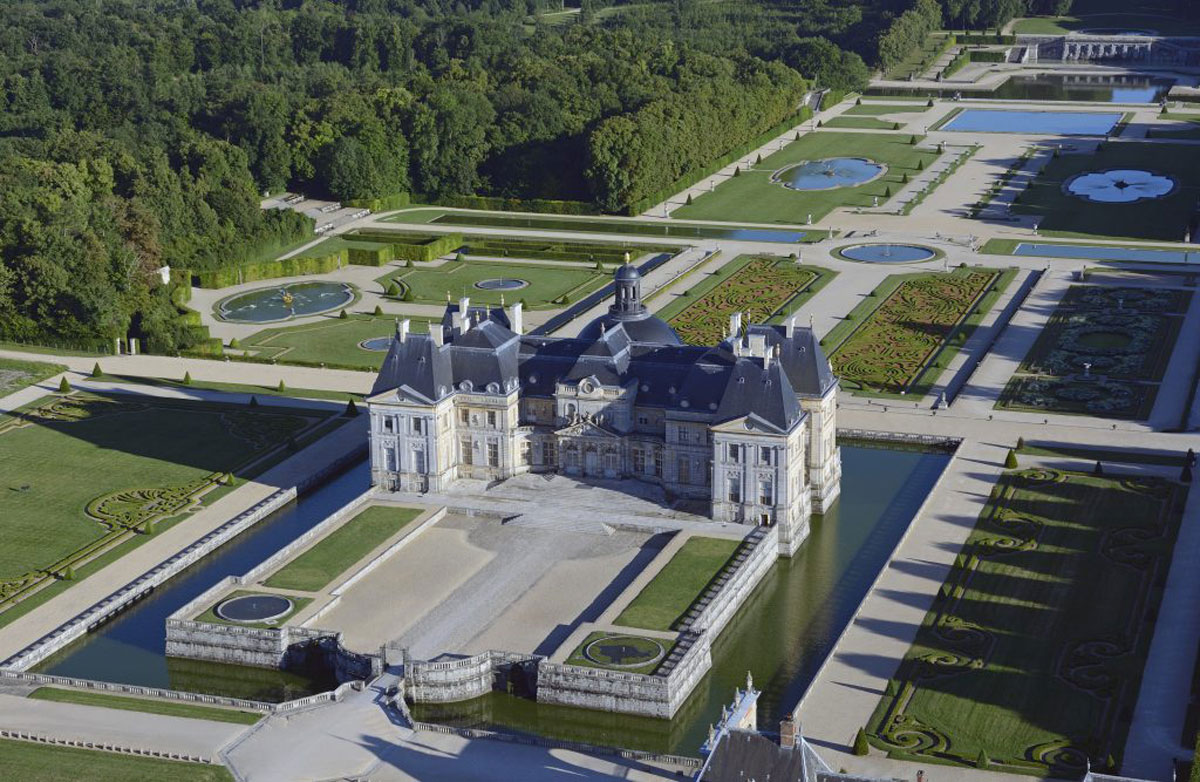 Château de Vaux le Vicomte gardens