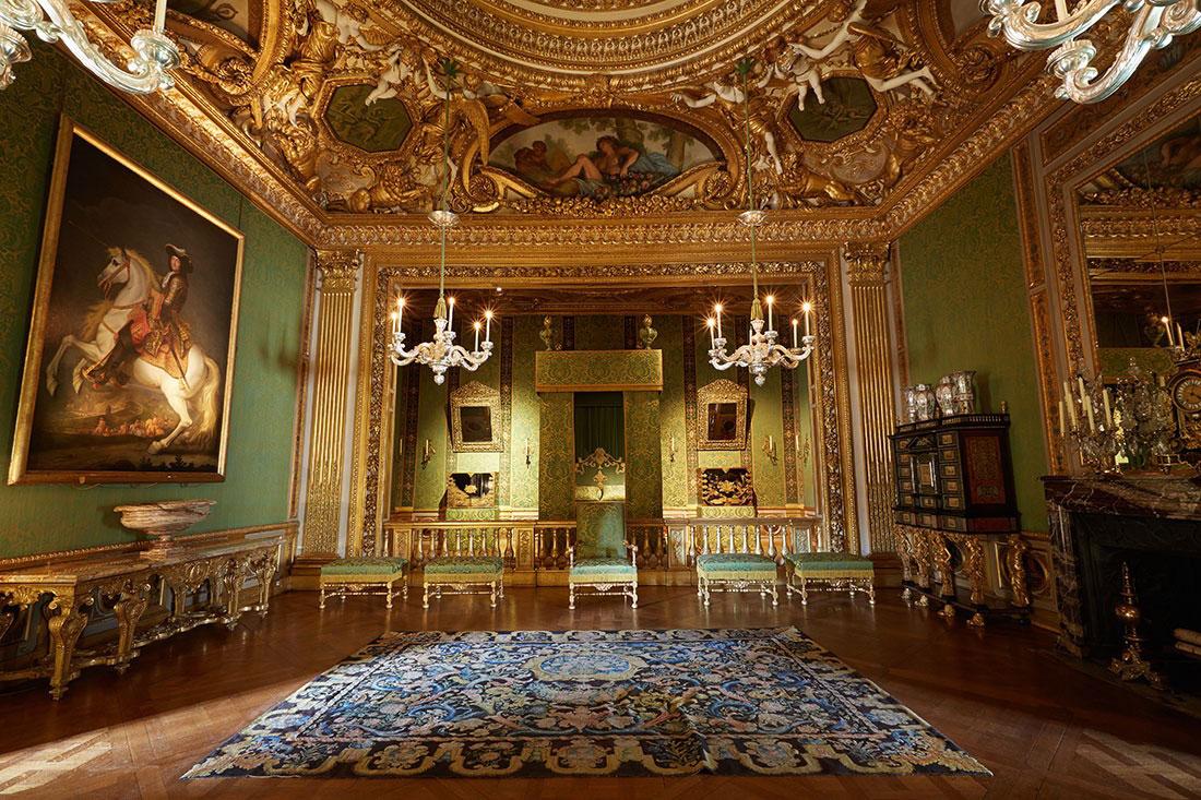 Château de Vaux le interior
