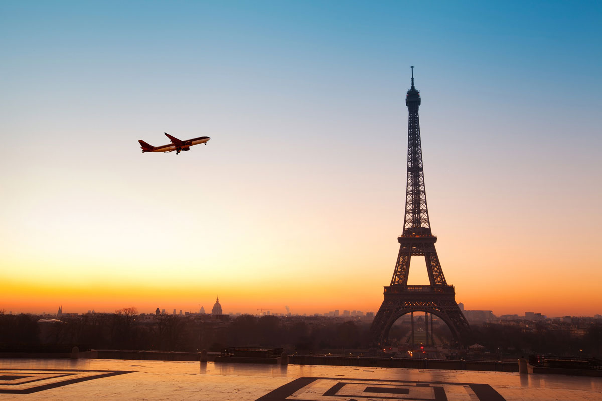Current international travel guidance to France covid