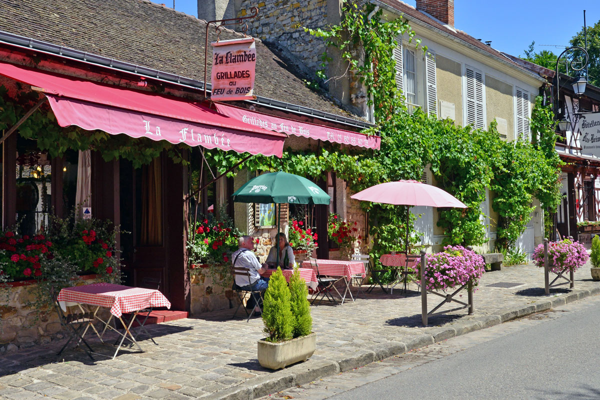 Picturesque will of Barbizon in France